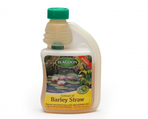 Blagdon Extract of Barley Straw Old Packaging