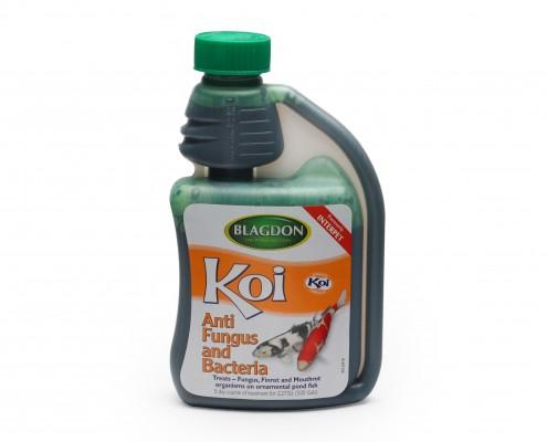 Blagdon Hi Koi Anti Fungus & Bacteria Old Packaging