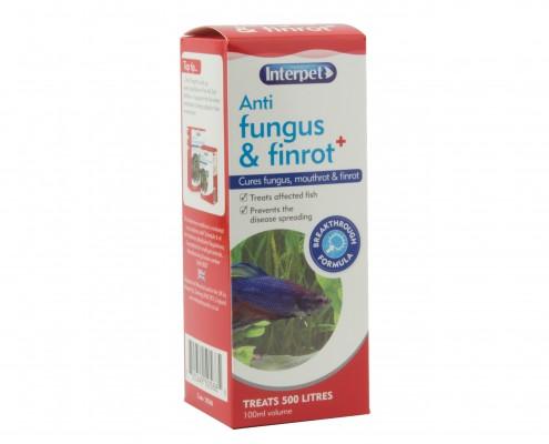 Interpet Anti Fungus and Finrot Plus + 100ml