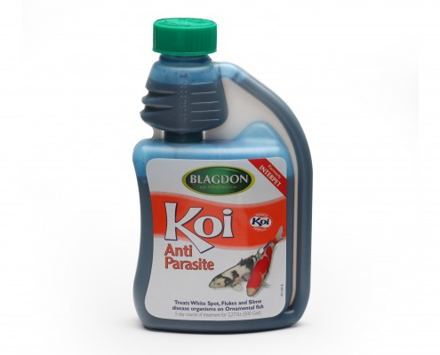 Blagdon Koi Anti Parasite Old Packaging